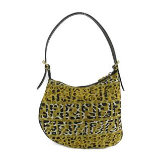 FENDI 〈フェンディ〉 Animal print one shoulder hand bag