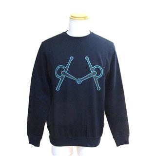 HERMES〈エルメス〉trainer sweatshirt top S size