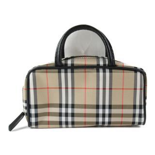 BURBERRY〈バーバリー〉Nova Check Mini Handbag zipped