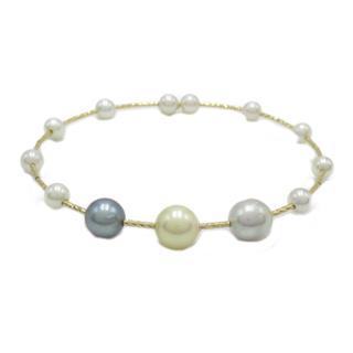JEWELRY〈ジュエリー〉Akoya pearl bracelet bangle