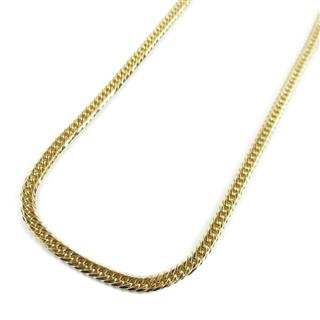 JEWELRY〈ジュエリー〉Double 6 ide curb flat  link chain Necklace