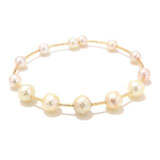 JEWELRY〈ジュエリー〉Akoya pearl flower pearl bracelet