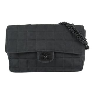 CHANEL 〈シャネル〉 New Travel Line Chain Shoulder hand Bag
