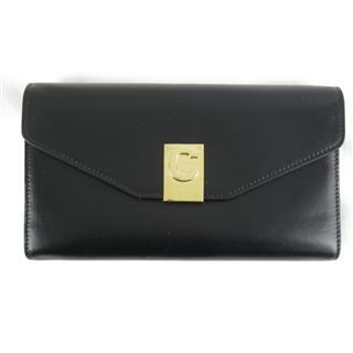 CELINE〈セリーヌ〉Tri-fold long wallet Purse portefeuille