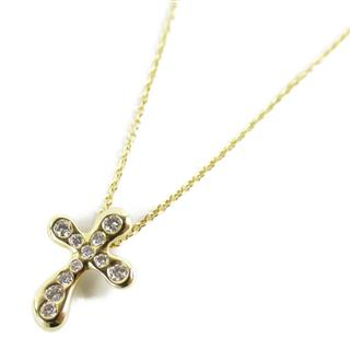 TIFFANY&CO 〈ティファニー〉 Dots Cross Diamond Necklace