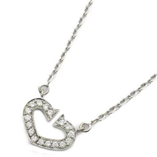 Cartier 〈カルティエ〉 C heart ring diamond necklace
