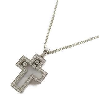 Chopard〈ショパール〉Happy diamond cross necklace