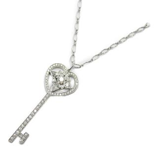 TIFFANY&CO 〈ティファニー〉 Heart key diamond necklace