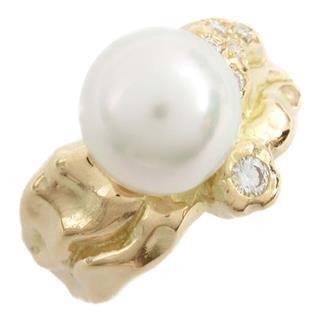 TASAKI〈タサキ〉Pearl diamond ring ring