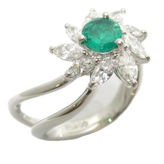 JEWELRY 〈ジュエリー〉 Emerald diamond ring ring