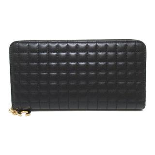 CELINE〈セリーヌ〉Round zipped wallet