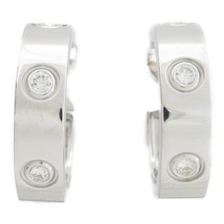 Cartier〈カルティエ〉Love diamond earrings