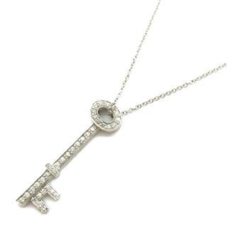 TIFFANY&CO〈ティファニー〉Oval key diamond necklace