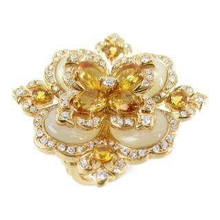 JEWELRY〈ジュエリー〉Citrine diamond ring ring