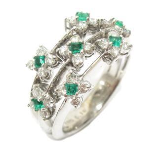 JEWELRY〈ジュエリー〉Emerald diamond ring ring