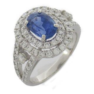 JEWELRY〈ジュエリー〉Sapphire diamond ring bague #12