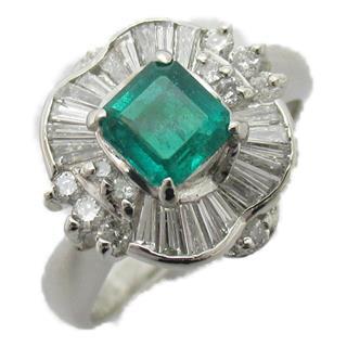 JEWELRY〈ジュエリー〉Emerald diamond ring bague #10.5