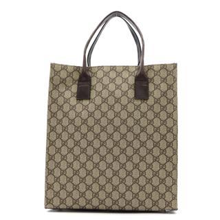 GUCCI〈グッチ〉GG Supreme Tote hand Bag