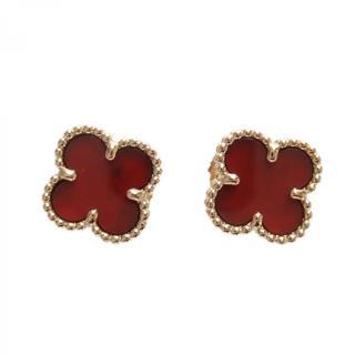Van Cleef & Arpels〈ヴァンクリーフ&アーペル〉Sweet Alhambra Pierced earrings