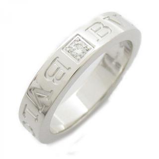BVLGARI〈ブルガリ〉Double logo 1P diamond ring