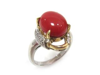 JEWELRY〈ジュエリー〉Coral ring