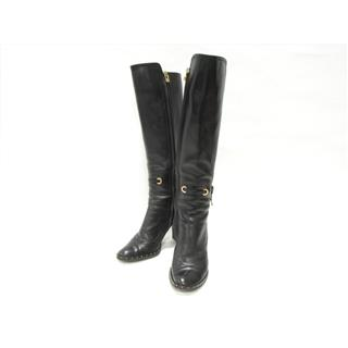 LOUIS VUITTON〈ルイヴィトン〉Suede Knee High Boots