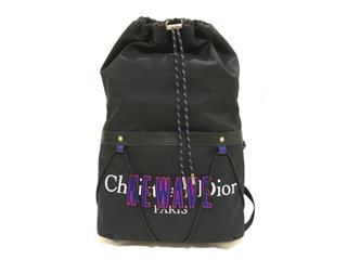DIOR HOMME〈ディオールオム〉Backpack Christian NEWAVE rucksack bag