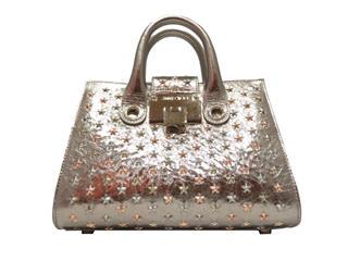 JIMMY CHOO〈ジミーチュウ〉Riley 2 WAY stud shoulderbag Handbag