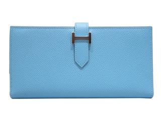 HERMES 〈エルメス〉 Bearn soufflet bi-fold long wallet