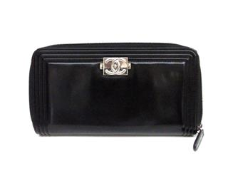 CHANEL 〈シャネル〉 Boy Chanel Round Long Wallet