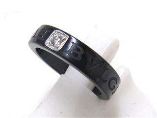 BVLGARI 〈ブルガリ〉 Double Logo Ring
