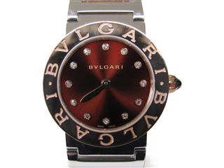 BVLGARI 〈ブルガリ〉 Bvlgari Bvlgari 12P Diamond Watch