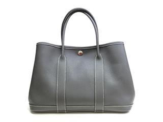 HERMES 〈エルメス〉 Garden TPM tote hand bag w/o Shoulder