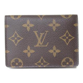 LOUIS VUITTON〈ルイヴィトン〉Porte 2 Cartes Vertical Pass Card Case