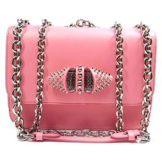 Christian louboutin 〈クリスチャン・ルブタン〉 Sweet Charity Chain Shoulder crossbody Bag
