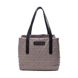 SOFIA Star Emboss Tote Shoulder Bag