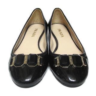 PRADA〈プラダ〉Flat shoes pumps #35.5