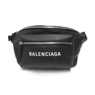 BALENCIAGA 〈バレンシアガ〉 Logo Crossbody Shoulder hip waist bag