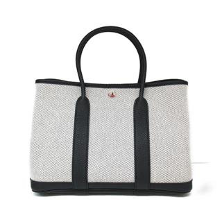 HERMES 〈エルメス〉 Garden TPM Tote hand bag without shoulder