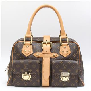 LOUIS VUITTON 〈ルイヴィトン〉 Manhattan GM Shoulder Hand bag