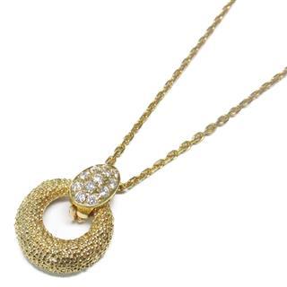 Van Cleef & Arpels〈ヴァンクリーフ&アーペル〉Necklace pendant diamond with jade replacement