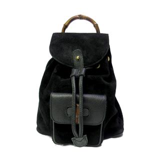 GUCCI 〈グッチ〉 drawstring Bamboo mini backpack rucksack