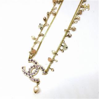 CHANEL〈シャネル〉Rhinestone necklace 02P