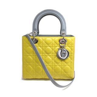 Dior〈クリスチャン・ディオール〉Lady Dior 2WAY Hand Shoulder Bag