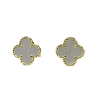 Van Cleef & Arpels 〈ヴァンクリーフ&アーペル〉 Vintage Alhambra pierced earrings