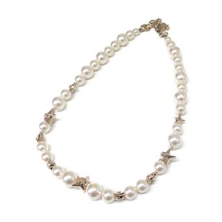 CHANEL〈シャネル〉Pearl and star necklace A17C