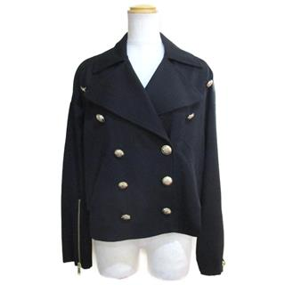 LANVIN 〈ランバン〉 Jacket short blouson #34 double-breasted