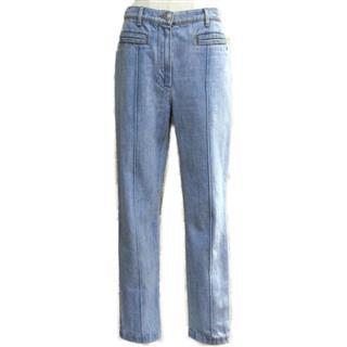 CHANEL〈シャネル〉Denim pants jeans #38