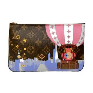 LOUIS VUITTON〈ルイヴィトン〉Double Zip Pochette chain shoulder bag