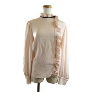 miu miu〈ミュウミュウ〉blouse shirt top frills #40
